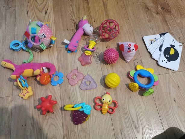Zabawki niemowlęce 15 sztuk