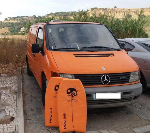Mercedes Vito campervan autocaravana (aluguer)