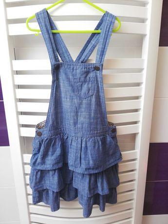 Sukienka jeansowa 140