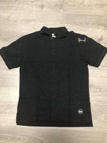 Koszulka polo stoprocent ( polówka koszula stopro czarna hip hop )