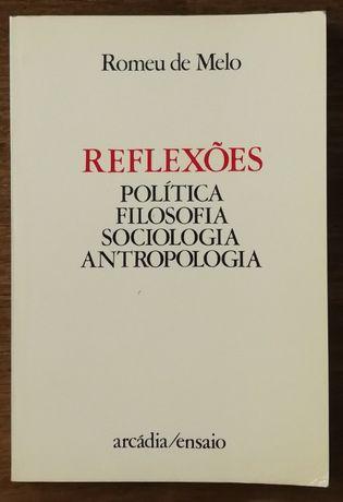 reflexões política filosofia sociologia antropologia, romeu melo