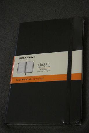 notatnik Moleskin Classic 13x21 cm, linia
