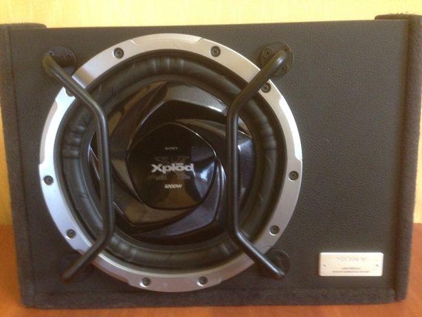 Сабвуфер Soni Xplod 1200w+усилитель Power Acoustik OV2-520