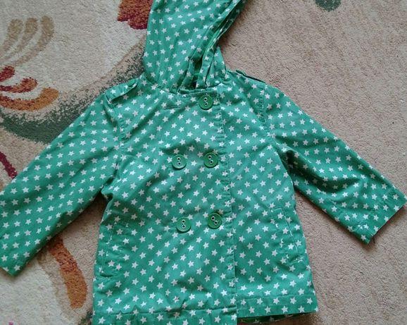 Демисезонная куртка Next на девочку дівчинку 2-3 года