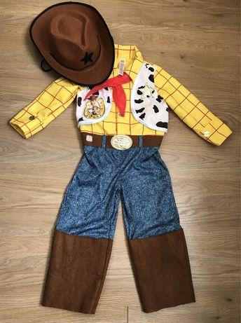 Карнавальный костюм Ковбой Вуди из Истории игрушек на 3-4 года
