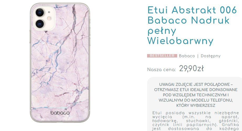 Etui Babaco Abstrakt 006 Huawei P20 Lite