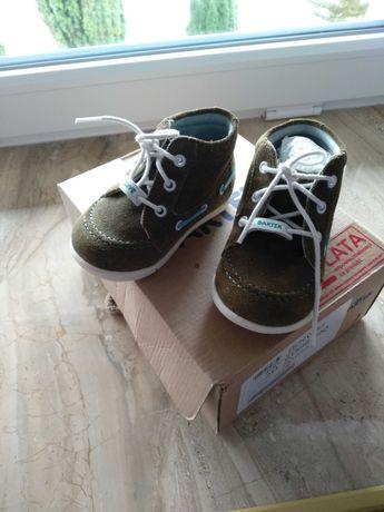 Buty Bartek skórzane chłopięce rozmiar 20