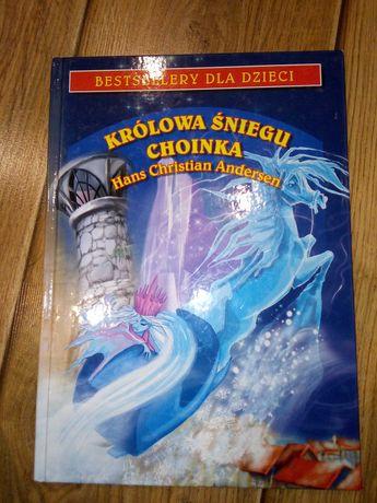 Książka Bestsellery dla dzieci Królowa śniegu choinka