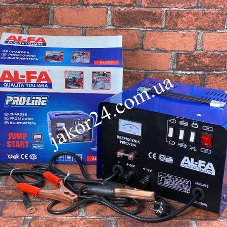 Пуско-зарядное устройство AL-FA 12-24В Польша! Пусковой ток 200Ф