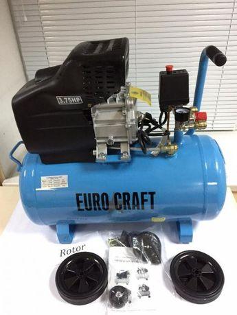 Компрессор компресор 50 л Euro Craft 2.8 кВт 240 л/м Польша! Гарантия