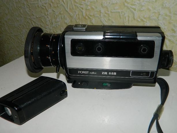 Японская Кинокамера PORST reflex ZR 448