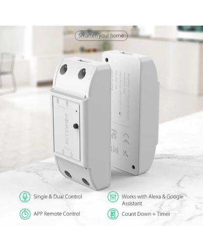 Interruptor / Comutador Inteligente 1Saída WiFi * Tuya * Controlo Voz