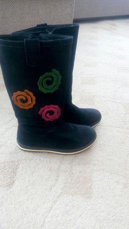Зимние замшевие сапоги Eleven shoes