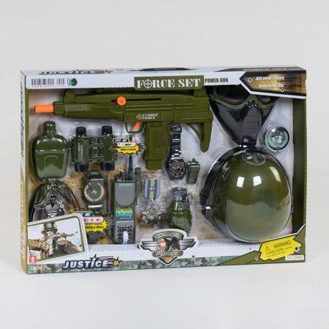 Ігровий набір військового Limo Toy звук,світло (34340) набор военного