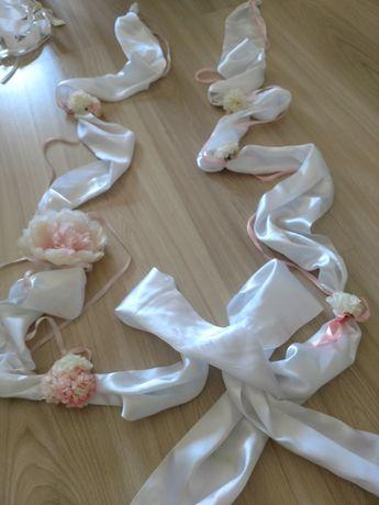 Ozdoby ślubne / dekoracja samochodu auta / wesele