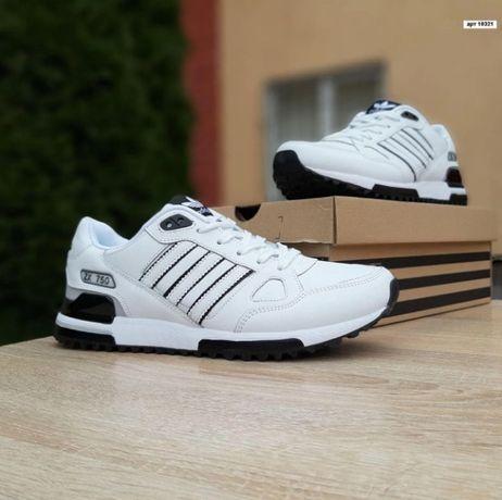 Мужские кроссовки Adidas zx750 белые. Размер 42, 43, 44, 45, 46