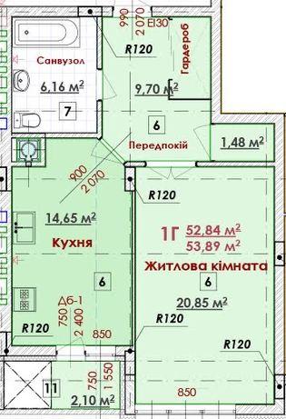 Продам 1-кім.квартиру по вул.Величковського ЖК»Соняшник»р-н Рясне2