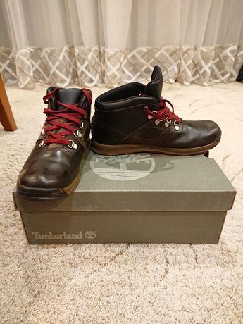 Детские коженные ботинки timberland