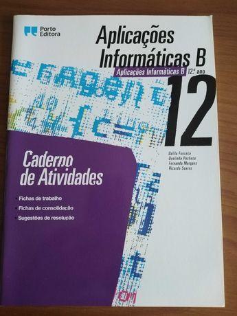 Caderno Atividades Aplicações informaticas B 12° ano