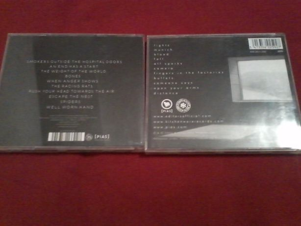 Editors-The Back Room e An End Has a Start