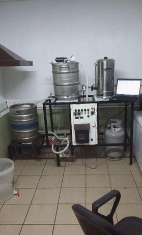 Domowy browar, piwo domowe, keg, kadź zacierna,