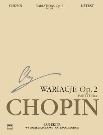 Chopin Wariacje op.2 na temat 'La ci darem la mano' (partytura)