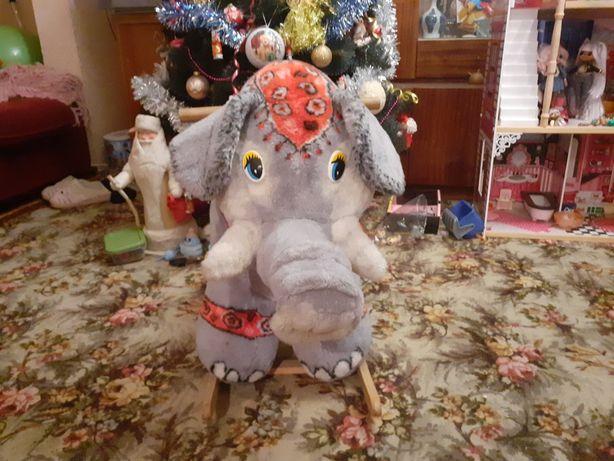 Качалка детская слон