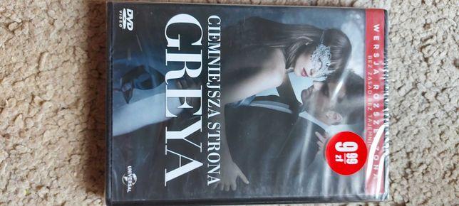 ciemniejsza strona Greya film na dvd nowy w folii