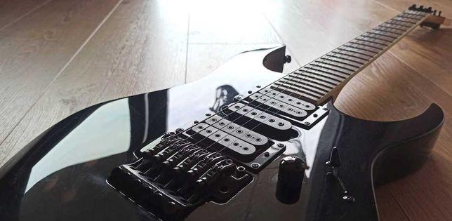 Ibanez RG 370DX czarna gitara elektryczna w bardzo dobrym stanie