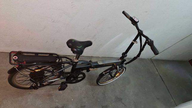Bicicleta Elétrica Desdobrável
