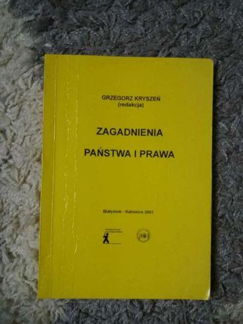 Zagadnienia państwa i prawa G. Kryszeń