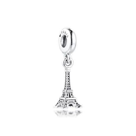 Charms PANDORA srebro 925 wieża Eiffla paryż podróż okazja tanio