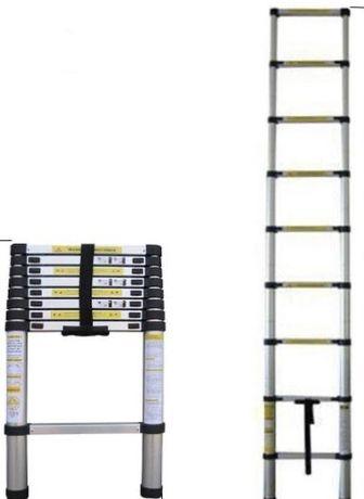Escada telescópica 3,2m( NOVA)!!