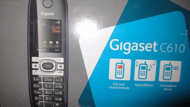 Telefone sem fios da Siemens com alcance para 300 metros