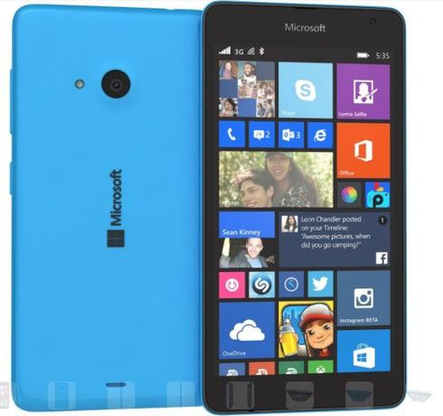 Смартфон Microsoft Lumia 535 (RM-1090) 2 сим microsoft windows phone