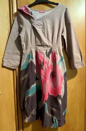 Sukienka ciążowa HuppyMum rozmiar M wizytowa na codzień