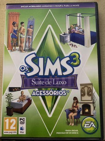 Sims 3 - Suite de Luxo Acessórios