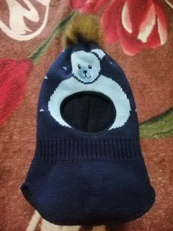 Термошапка  шлем для мальчика