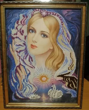 Ручные работы вышивки картин бисером
