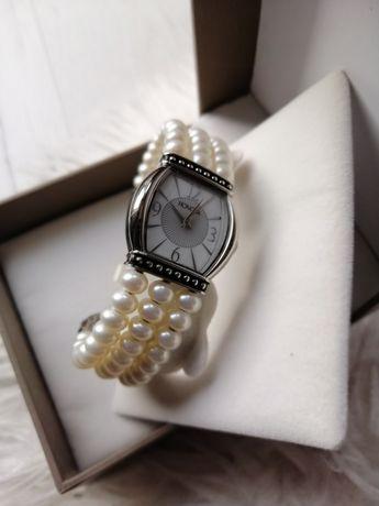 Damski zegarek honora perełki