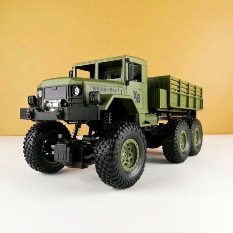 Машинка на радиоуправлении 1:18 Военный грузовик 4WD Зеленый