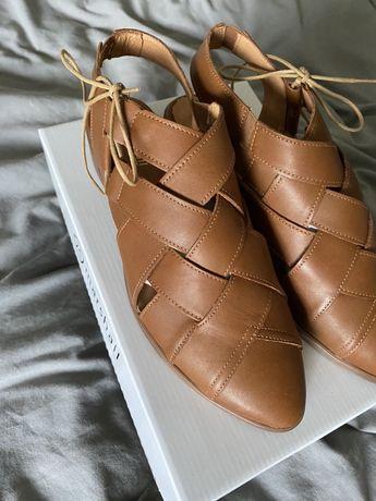 Sprzedam buty marshall shoes handmade 39 camel