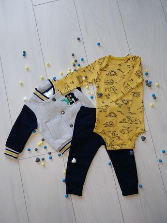 Dres niemowlęcy chłopięcy 3 częściowy