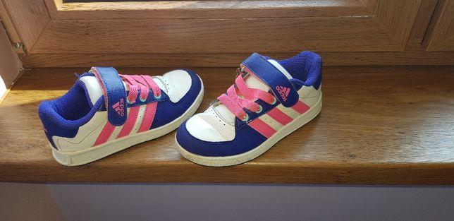 Buty adidas rozmiar 30 dziewczęce tenisówki wiosna lato