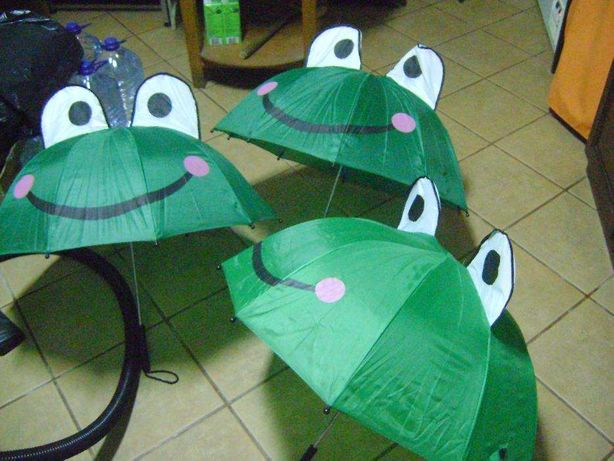 3 guarda chuvas unissexo