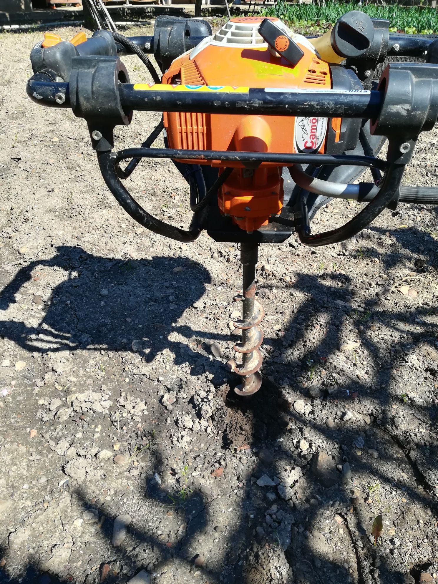 Perfurador de solo - Abre buracos