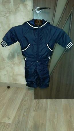 Демисезонный костюм р.86-92