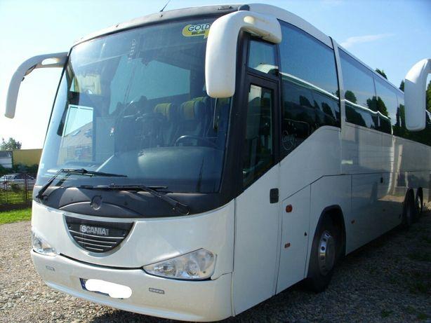 Автобус Scania 3х осевая