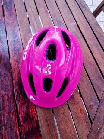 Capacete de bicicleta menina