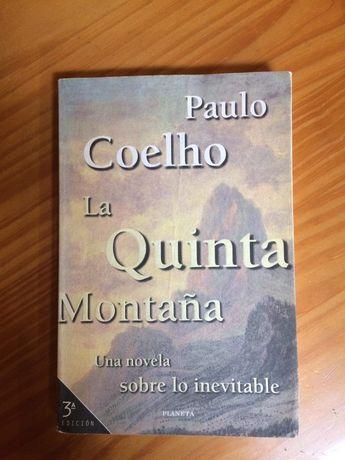 A quinta montanha   Paulo Coelho  livro em espanhol